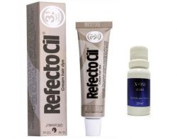 Refectocil 3.1 Castanho Claro 15ml + Oxidante Henafix 20ml Cílios Sobrancelhas Barba