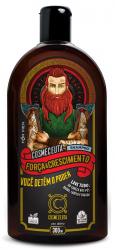 Shampoo Masculino Barba Cabelo Bigode Força & Crescimento Vegano 300ml