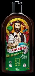 Condicionador Masculino para Barba Cabelo Hortelã e Pimenta 300ml Vegano Cosmeceuta