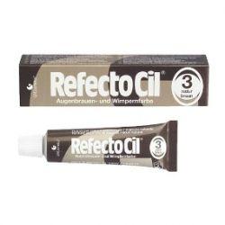 Refectocil 3.0 Castanho Natural / Escuro 15ml Tintura para Cílios Sobrancelhas Barba