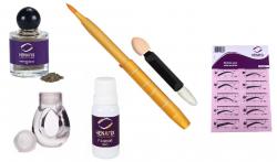 Kit 12 Moldes + Henna 4gr + Anel + Pincel + Fixador Henafix
